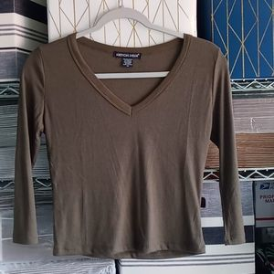 Women's long sleeve thermal top size medium